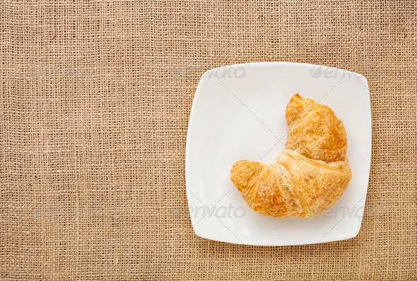 croissant roll - Stock Photo - Images