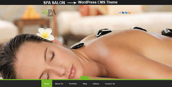 SPA SALON - Creative WordPress CMS Theme - Health & Beauty Retail