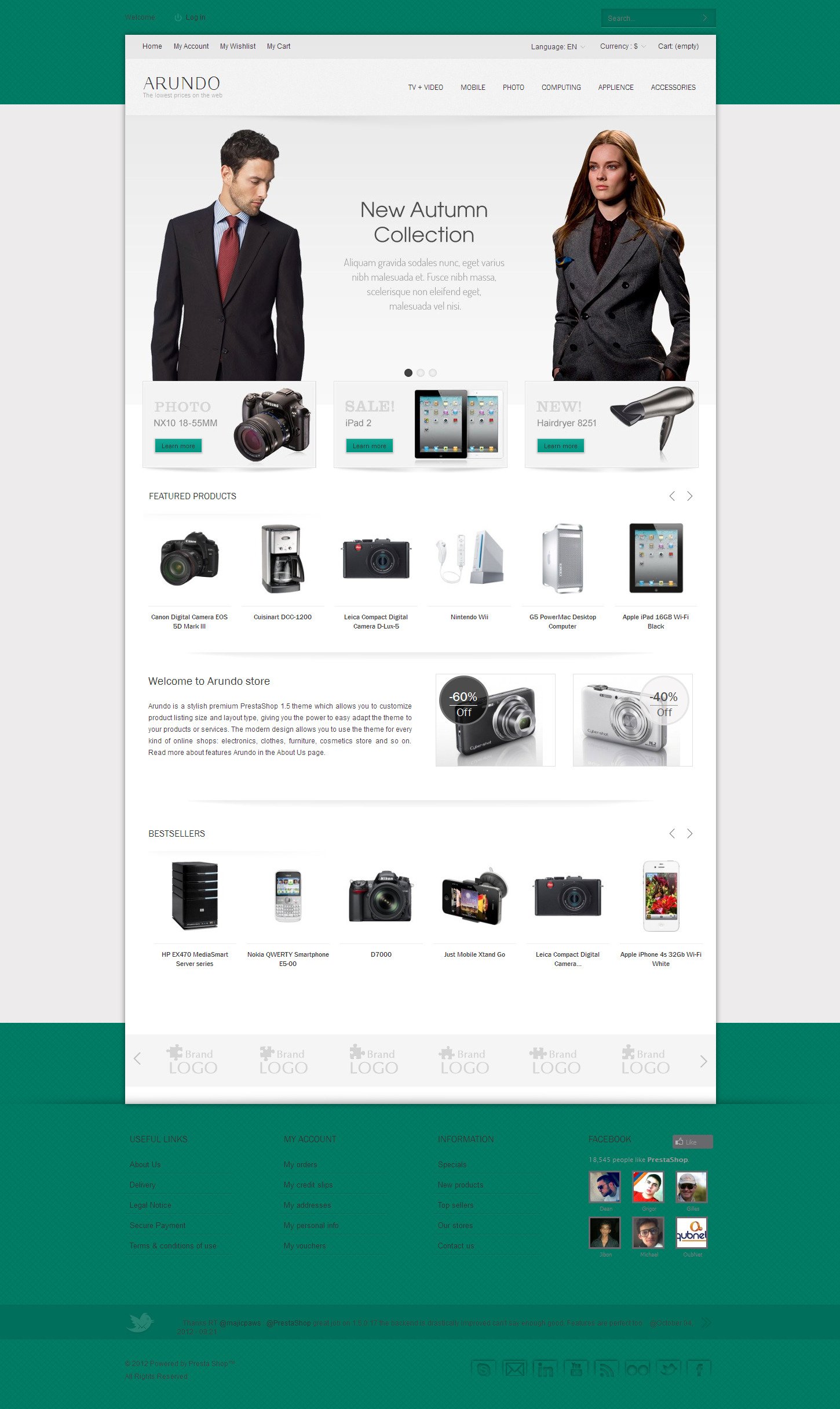 Arundo - Premium Prestashop Theme