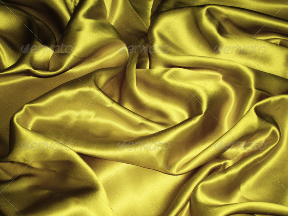 Creased satin 2 - Stock Photo - Images