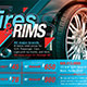 Tires and Rims Sales Ad Flyer Template - GraphicRiver Item for Sale