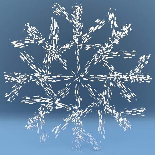 3DOcean Snowflake 3604535