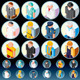 People Occupations Icons - GraphicRiver Item for Sale