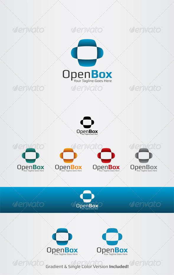 GraphicRiver Open Box Logo Template 3605638