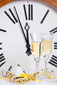 Clock at midnight on New Year Eve - PhotoDune Item for Sale