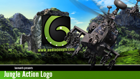 VideoHive Jungle Action Logo 3509814