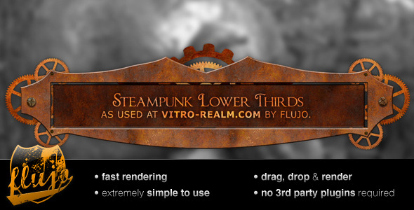 VideoHive Steampunk Lower Thirds 3607518