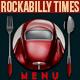 Rockabilly Times Retro Menu-Graphicriver中文最全的素材分享平台