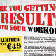 Are You Getting Results With Your Workouts? Flyer - GraphicRiver Item for Sale