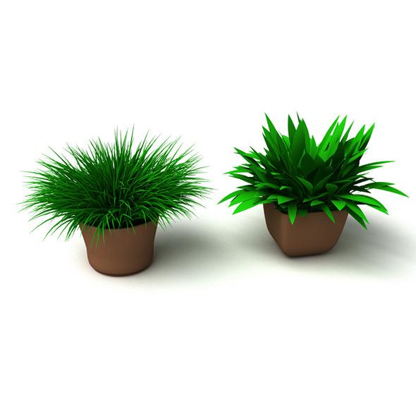 3DOcean Grass Plant 3608391