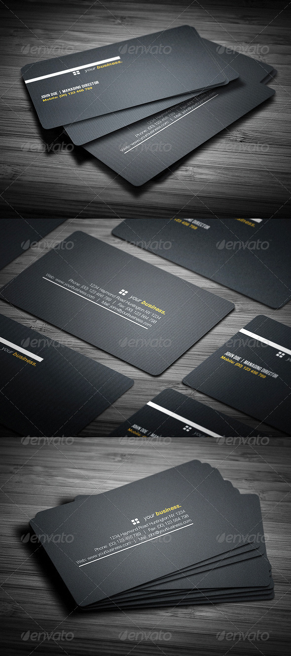 GraphicRiver Canvas Business Card 3609824
