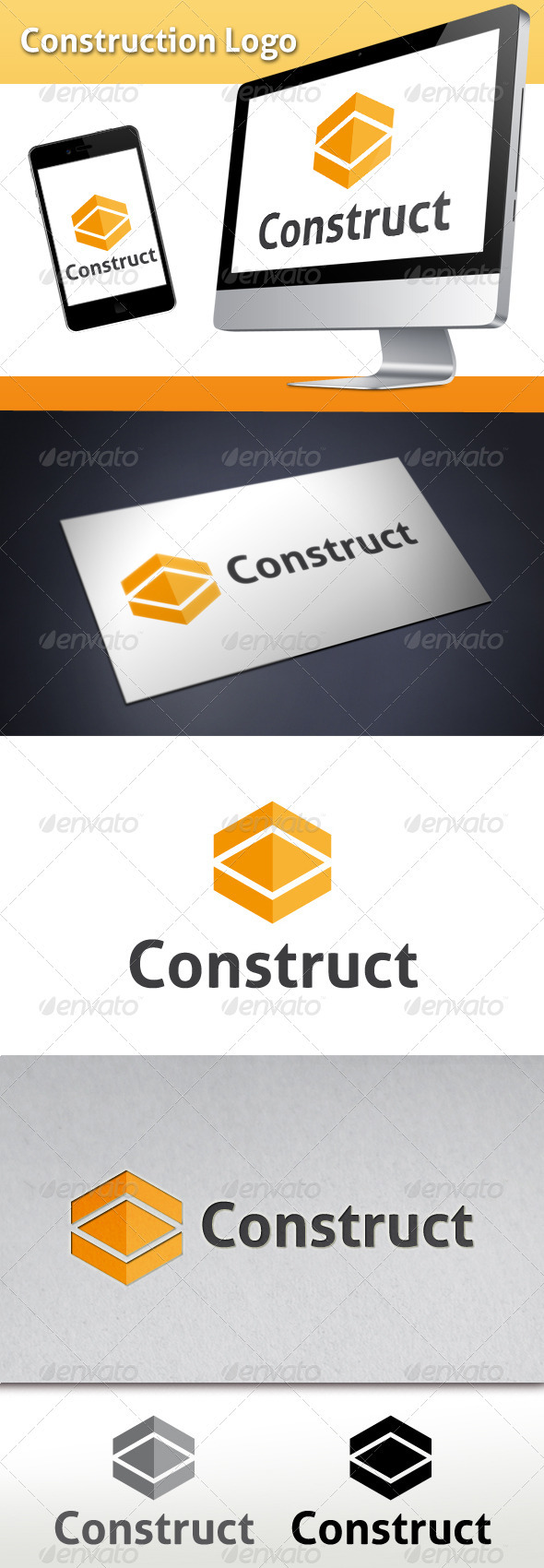 GraphicRiver Construction Logo Template 3567015