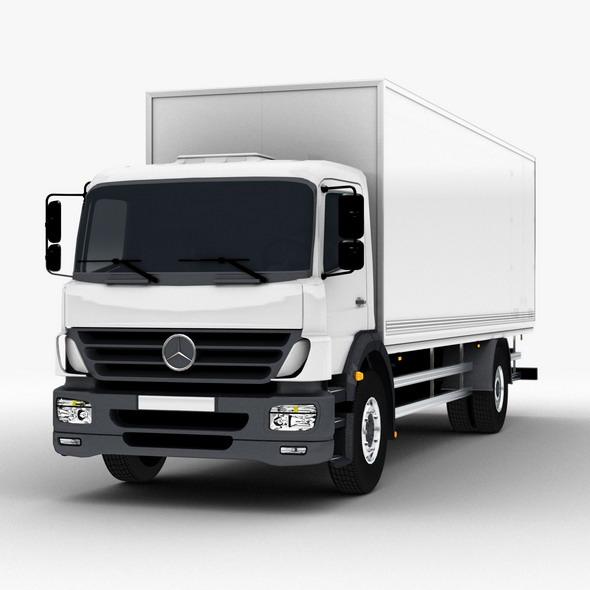 3DOcean Commercial Truck Mercedes 3612558