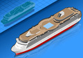 Isometric Cruise Ship - PhotoDune Item for Sale