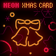 Neon Christmas XML Card With 3D Parallax Effect - ActiveDen Item for Sale