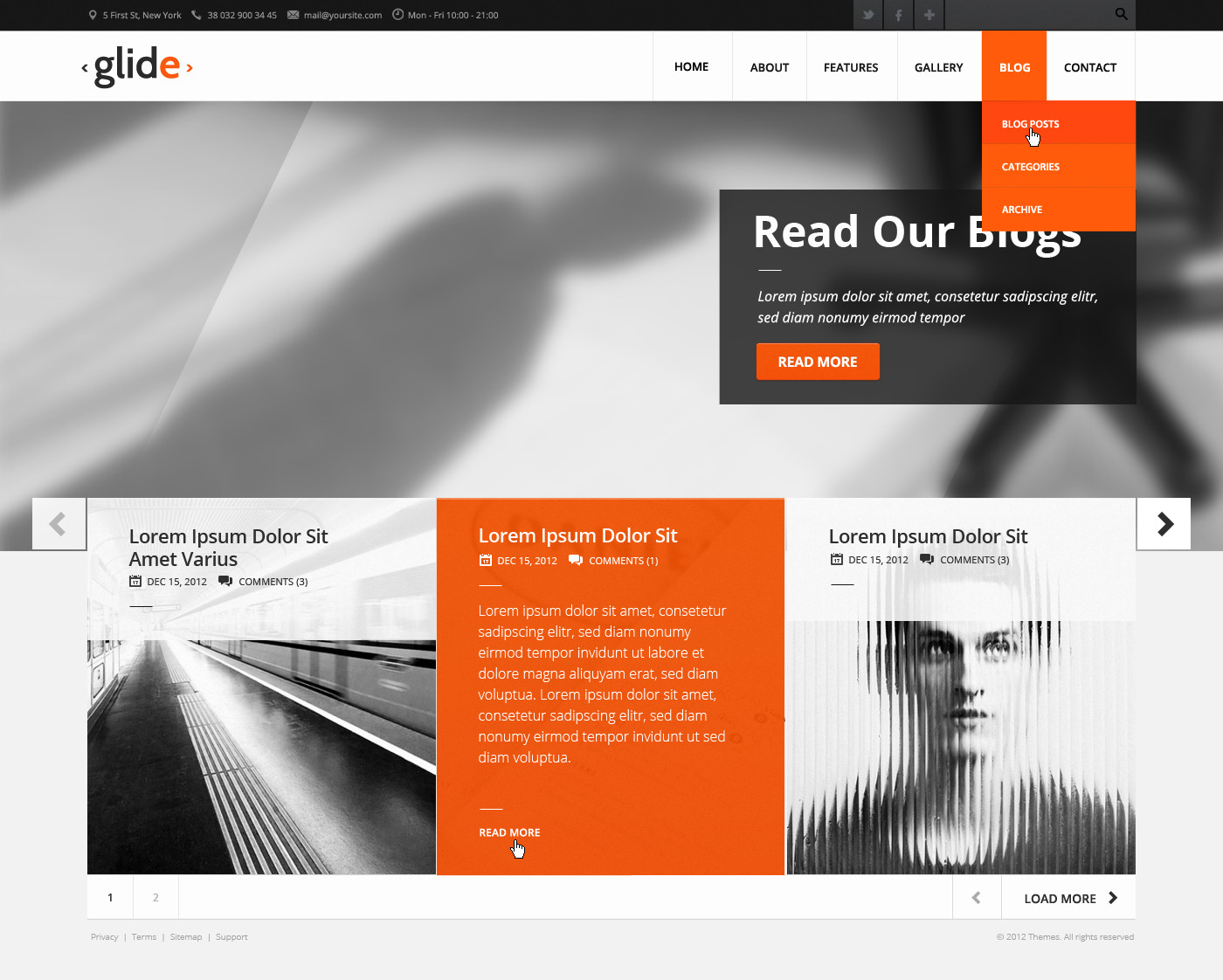 Glide | Multipurpose Clean Theme