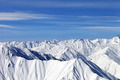 Winter mountains in nice day. Caucasus Mountains, Georgia - PhotoDune Item for Sale