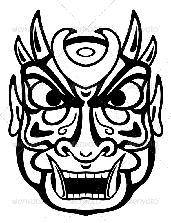 GraphicRiver Ancient Mask 3617981