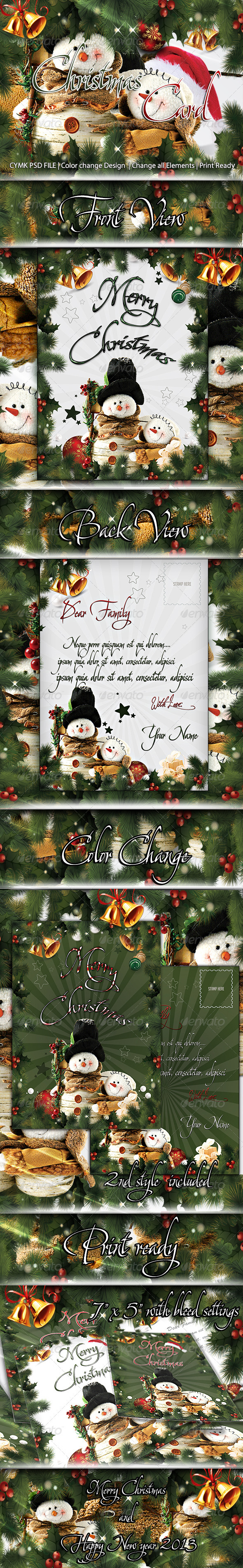 GraphicRiver Christmas Card 3582791