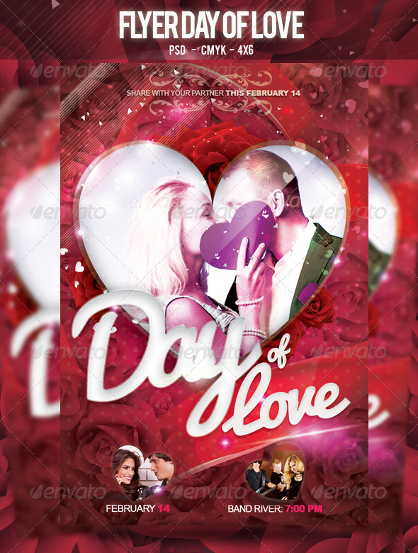 Flyer Day of Love - Clubs & Parties Events