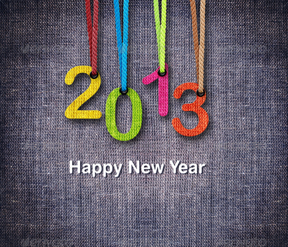 2013 New Year - Stock Photo - Images
