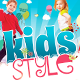 Kids Style Flyer Template-Graphicriver中文最全的素材分享平台