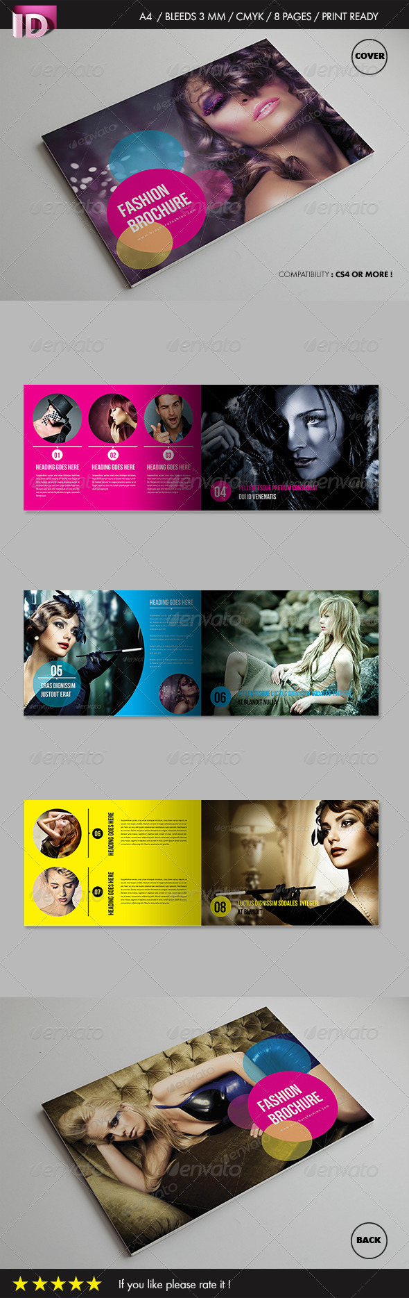 GraphicRiver Fashion Brochure Vol 1 3621664