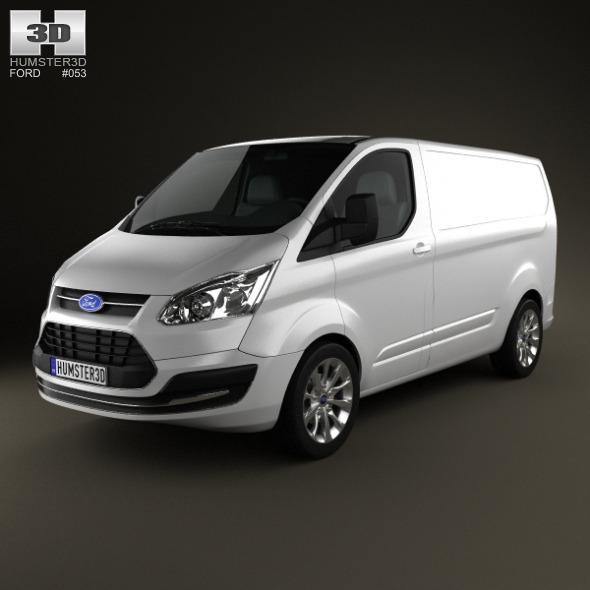 3DOcean Ford Transit Custom SWB 2012 3623810