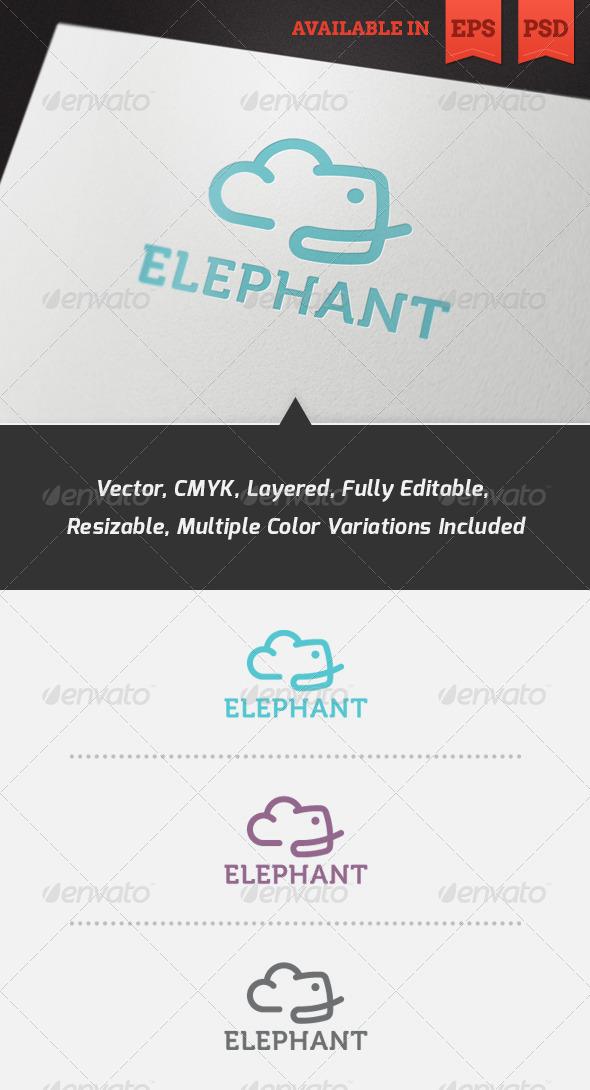 GraphicRiver Evercloud Logo Template 3572055