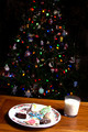 Christmas Cookies Milk and Tree - PhotoDune Item for Sale