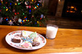 Christmas Cookies and Milk Fireplace Tree - PhotoDune Item for Sale