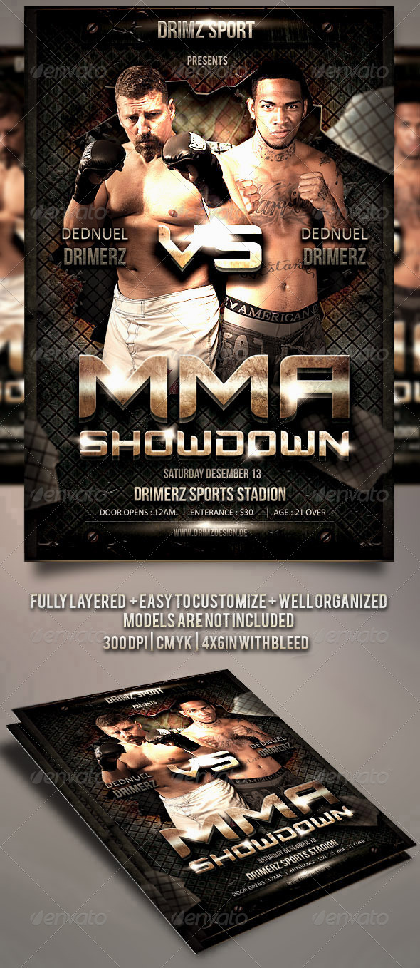 Fight Flyer - Sports Events