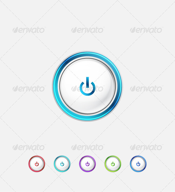 GraphicRiver Minimalistic Power Buttons 3627708