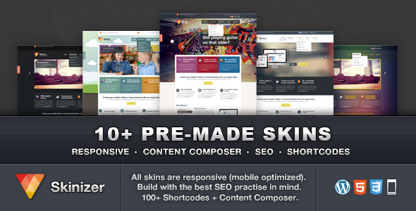 Skinizer - Multipurpose WordPress Theme