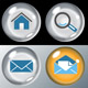 Glass Marble Icons - ActiveDen Item for Sale