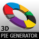 3D Pie Chart Generator - GraphicRiver Item for Sale