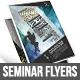 Gstudio Seminar Flyers Template - GraphicRiver Item for Sale