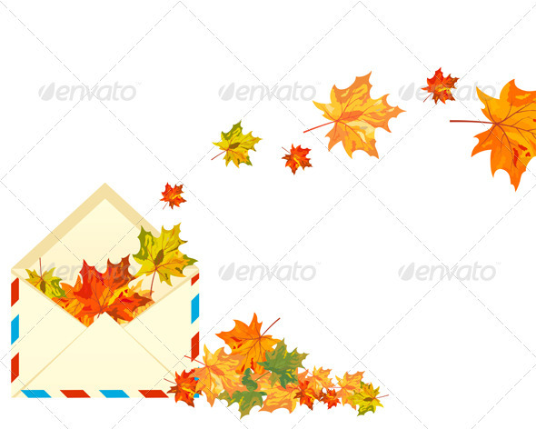 GraphicRiver Autumn Maple 3631744