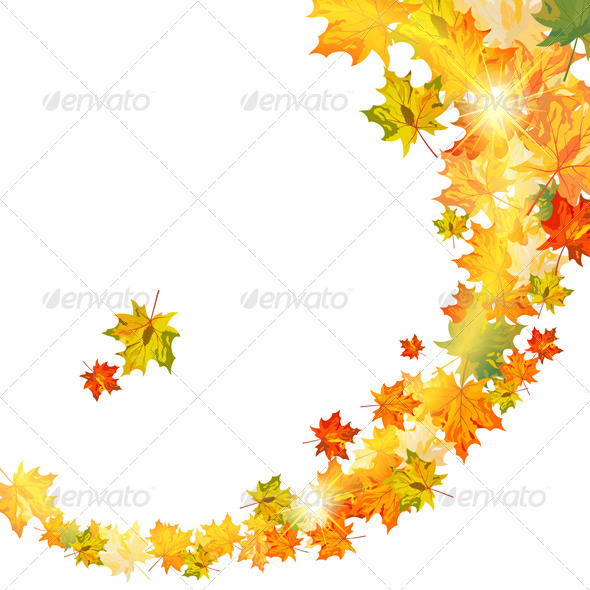 GraphicRiver Autumn Background 3631781