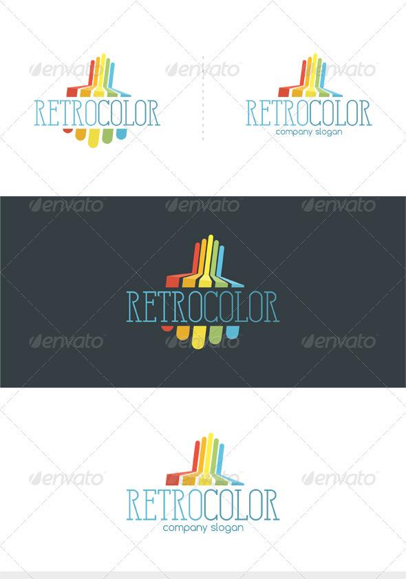 GraphicRiver Retro Color Logo 3632135