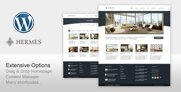 ThemeForest Hermes for Business Corporate Resort and Hotel 272347
