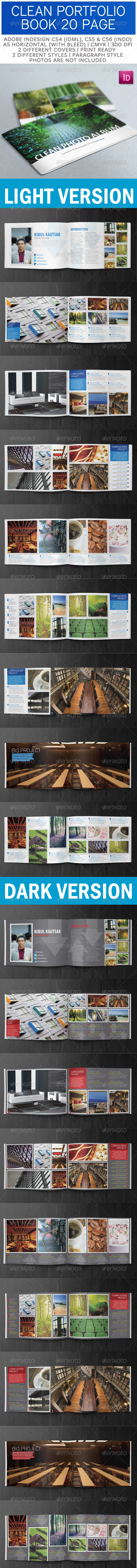 GraphicRiver Creative Portfolio Book A5 Horizontal 3371748