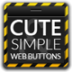 Cute &amp;amp; Simple Web UI Buttons Kit - GraphicRiver Item for Sale