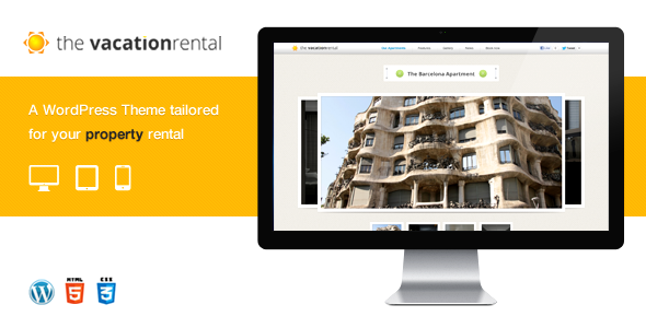 ThemeForest The Vacation Rental 3231635