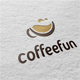coffeefun logo template - GraphicRiver Item for Sale