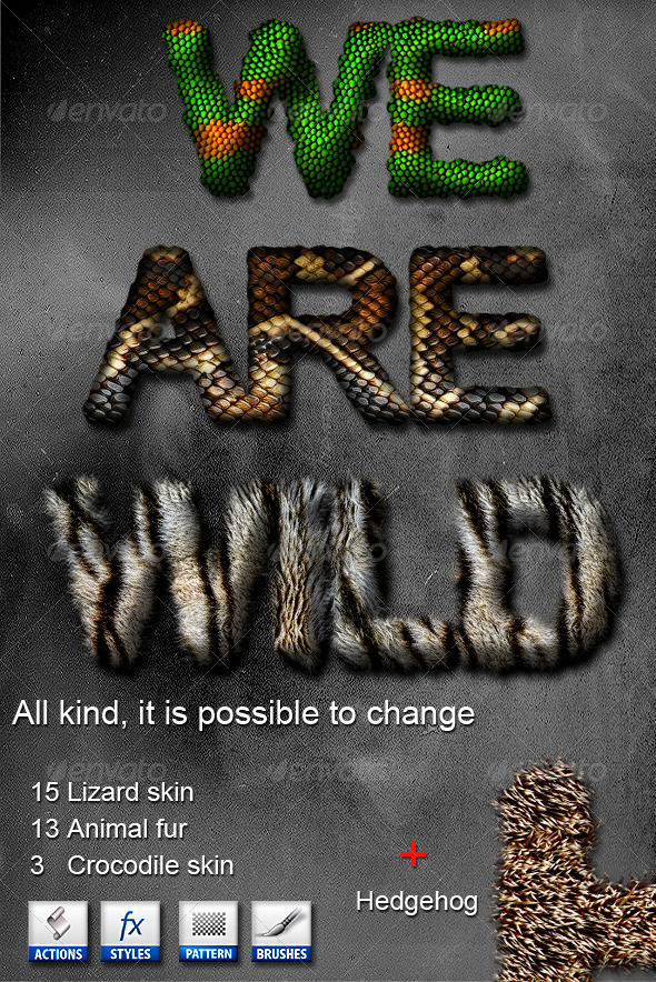 GraphicRiver Wild Text 3635284
