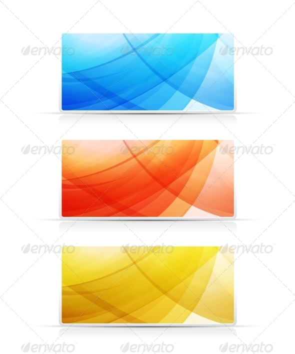 GraphicRiver Bright Color Banners Collection 3636076