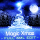 Magic Christmas / Happy New Year! Card Full XML