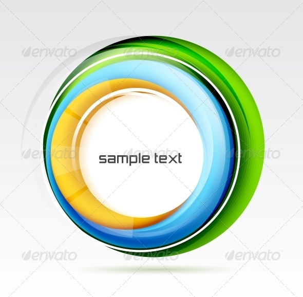 GraphicRiver Abstract Colorful Swirl Design 3637110