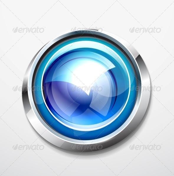 GraphicRiver Glossy Button 3637694
